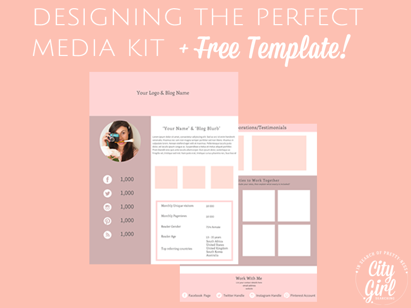 How+to+design+a+media+kit+for+your+blog+free+printable