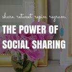 Share. Retweet. Repin. Regram. The Power of Social Sharing