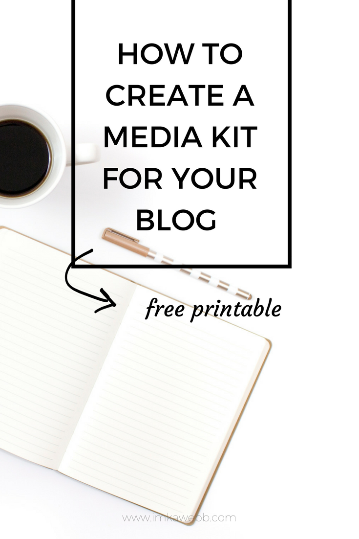 In this post, I chat about how to create a media kit for your blog and hwy you need a media kit. I have also included a free printable media kit template for you! Enjoy!