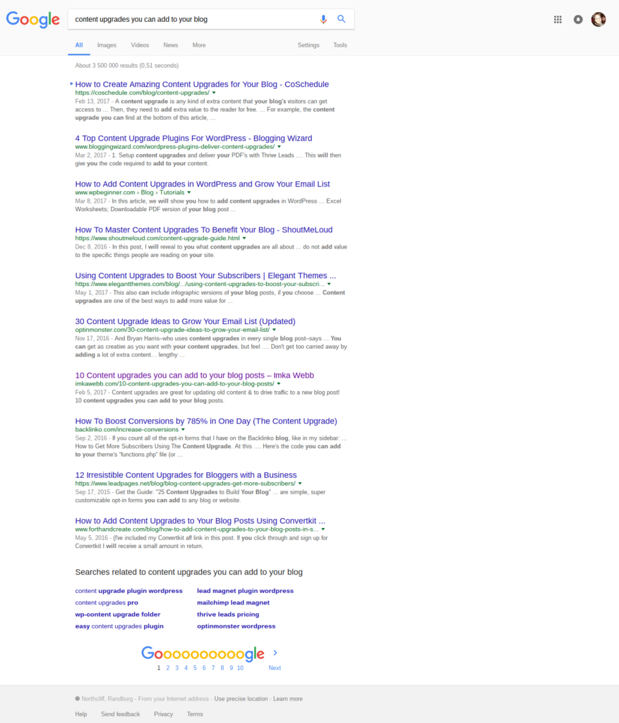 My secret to ranking on the first page of Google